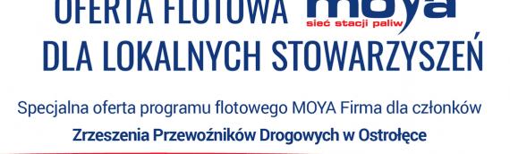 Oferta flotowa Moya dla ZPD OStrołęka